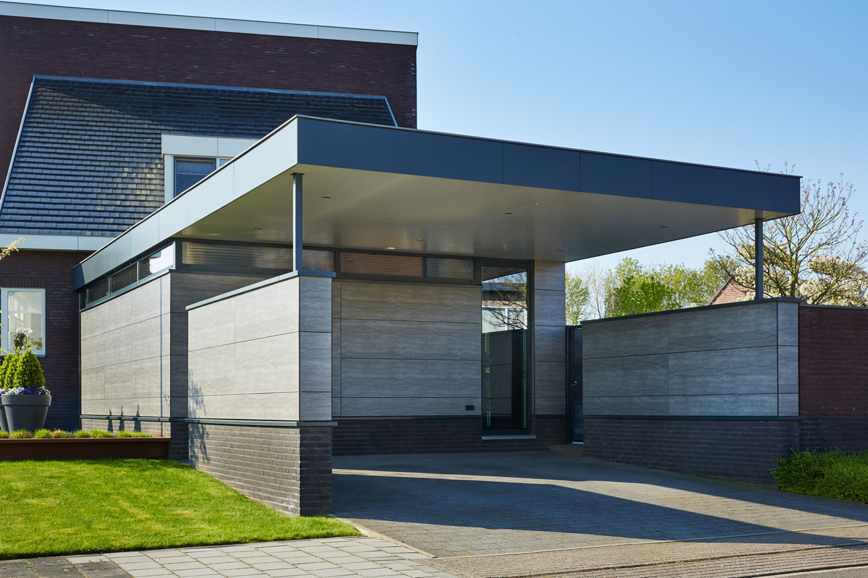 Roks bouw bouw moderne energiezuinige woning for Moderne bouw